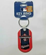MLB Washington Nationals 2019 World Series Champions Aluminum Key Ring W... - $11.99
