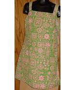Vtg 60s THE TWINS INC Miami MOD Jumper mini Dress - $87.48