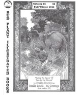 Bud Plant Illustrated Books Catalog 15 Franklin Booth Cover Winter 1995 - $9.99