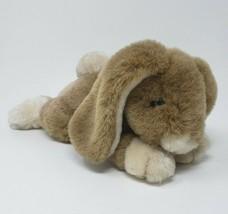 "12 ""vintage 1987 applause edison brown bunny rabbit stuffed animal toy - $45.45"