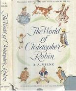 1958 A.A. MILNE WORLD OF CHRISTOPHER ROBIN WHEN WE WERE YOUNG NOW WE ARE... - $40.58