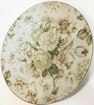 """ANTIQUE ROSE"" Stoneware Dinner Plate By PTS International-Interiors 10 ... - $12.38"