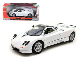Pagani Zonda C12 White 1/24 Diecast Car Model by Motormax - $29.95