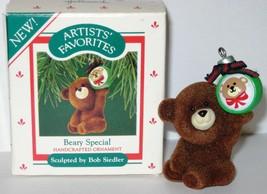 1987 Hallmark Christmas Ornament Beary Special Bob Seidler Artists' Fav smal MIB - $13.86