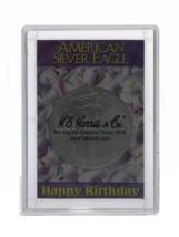 ASE Frosty Case - Happy Birthday, 2x3 Snap Lock Coin Storage 3pk  - $6.49
