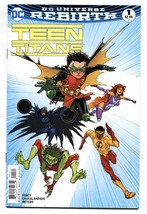TEEN TITANS #1 2016-comic book-Rebirth-First issue NM- - $24.83