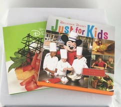 2 Delicious Disney Cookbooks Desserts and Just For Kids Great Condition - $30.18