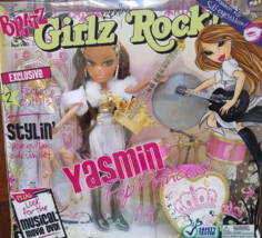 BRATZ YASMIN Pop Princess Girlz Really Rock, NIB - $34.95