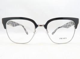 Prada VPR 30R ROK-1O1 Black / Grey Havana Eyeglasses 52mm - 170 - $75.71