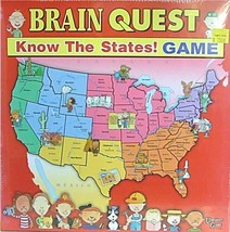 BRAIN QUEST - Know the States! Game (University Games)  -=NEW=- - $14.20