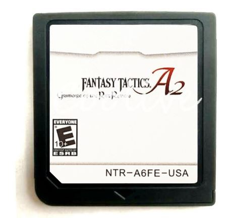 Fantasy Tactics A2 Grimoire of Rift Nintendo DS - Cartridge Only - NTSC