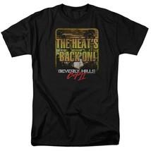 Beverly Hills Cop 2 T-shirt Heat Is On 1980s Eddie Murphy movie tee PAR429 image 2