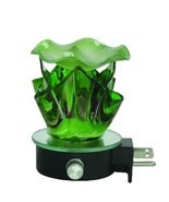 Green Lava Wall Plugin Warmer - use with Scentsy & Yankee Candle Wax - £11.14 GBP