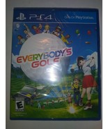 Everybody's Golf (Sony PlayStation 4 PS4) Brand New Factory Sealed - $18.80