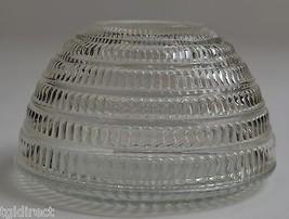 "Hazel Atlas Beehive Clear Pattern Round Bowl 5.25"" Round Glass Home Decor - $17.99"