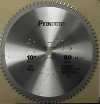 Oldham 100PT80 10 x 80 Tooth Carbide Saw Blade USA - $21.78