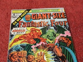 GIANT-SIZE FANTASTIC FOUR # 6 * 1st Printing * 1975 * BIRTH of FRANKLIN ... - $4.00