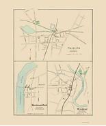 Plainville Warehouse Point Windsor Connecticut - Hurd 1893 - 23.00 x 27.30 - $36.58+