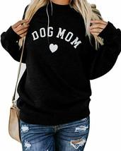 Heymiss Womens Tops Cat Dog Mom Shirts Long Sleeve Crewneck Graphic Tees - $51.68