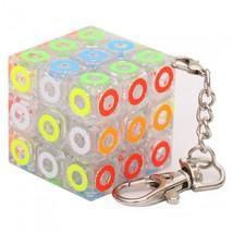 Qiyi Cube Keychain 3x3 Mini Pocket Key Ring Keyring Puzzle Fidget Toy -T... - $10.47
