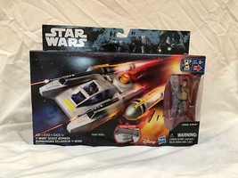 Action Figure Star Wars Rebels Y-Wing Scout Bomber Kanan Jarrus Hasbro 2018 - $9.90