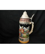 Vintage German Schmid Christmas 1971 Collector Stein  - $30.00