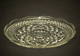 Wexford by Anchor Hocking Glass Bread & Butter Plate Diamond Point Criss-Cross - $9.89