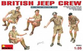 Miniart Models - 35051 - British Jeep Crew - 1/35 - $15.99