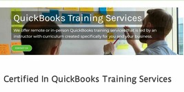 QuickBooks Training Course with Certified ProAdvisors. Industry Specific.  - $360.00