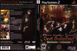 Shin Megami Tensei: Devil Summoner CUSTOM PS2 CASE (NO GAME!!!!!!!!) - $5.64
