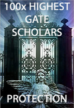 100X 7 Scholars Highest Gate Extreme Protection Guarded Extreme Master Magick - $99.77