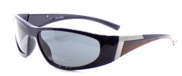 Harley Davidson HDX871 NV Wraparound Sunglasses Navy Blue 63-15-130 Smoke + CASE - $47.90