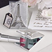 20 Eiffel Tower Design Compact Mirrors Wedding Bridal Shower Favors Gifts - $31.68