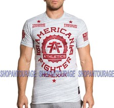 AMERICAN FIGHTER Maryland FM6056 Men`s Marble White T-shirt By Affliction - $34.95