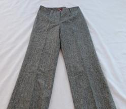 H & M SIZE 6 TWEED WOMENS DRESS PANTS - $8.00