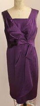 NANETTE LEPORE SIZE 12  PURPLE WOMENS FORMAL COCKTAIL EVENING WEAR SILKY... - $43.76 CAD
