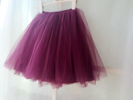 PLUM PURPLE flower girl Mini Tutu Skirt Baby Tutu Skirts Many colors NWT
