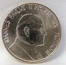 POPE JOHN PAUL II / WOMAN BIRDBATH VATICAN '97 COIN UNC - $21.28