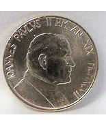 POPE JOHN PAUL II / WOMAN BIRDBATH VATICAN '97 COIN UNC - $22.99