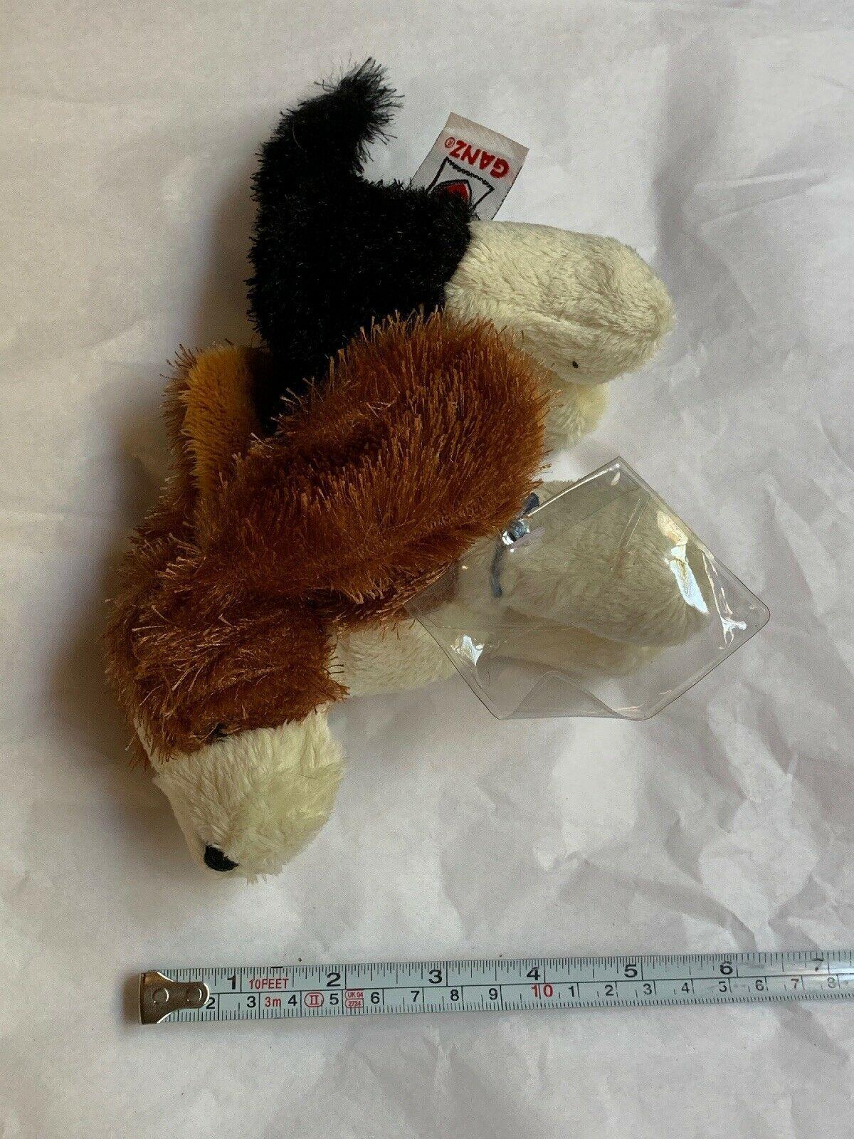 Ganz Webkinz Shaggy Brown White Basset Hound Puppy Dog Stuffed Plush Animal 9in image 5