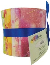 Fabric Editions Long Road -fabric Jelly Rolls, Acrylic, Multicolour #bdd - $21.99