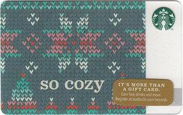 Starbucks 2014 So Cozy Collectible Gift Card New No Value - $3.99