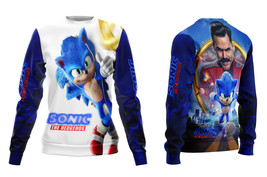 Sonic The Hedgehog  All Printed Sweatshirt for Women - $44.99+