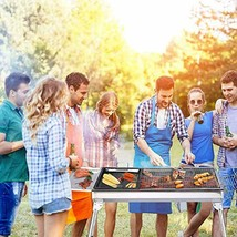 Large BBQ Grill Charcoal Barbecue Outdoor Pit Patio Backyard Home Meat C... - $89.09