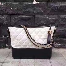 CHANEL GABRIELLE HOBO BAG A91810 A93824 WHITE - $3,100.00
