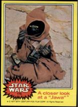 1977 Topps Star Wars Yellow #175 A Closer Look At A Jawa > Tatooine > Good - €1,08 EUR