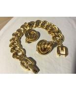 Grandmas Estate Givenchy Paris New York Bracelet & Clip Earrings (Mia) - $163.35