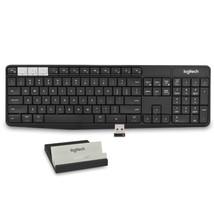 Logitech K375s Muli-Device Bluetooth/2.4GHz Wireless Keyboard &Smartphone/Tablet - $50.22