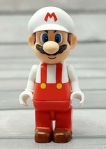 K'NEX Fire Mario Figure Minifigure WII Nintendo Super Bros HTF Powerup 2011 - $12.93