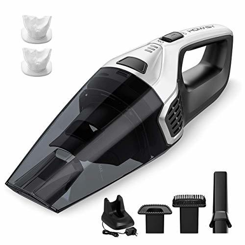 homasy upgraded handheld vacuum cleaner cordless powerful lightweight cyclonic vacuum cleaners. Black Bedroom Furniture Sets. Home Design Ideas